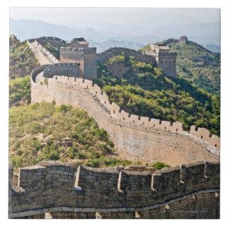 La Gran Muralla de China Azulejo Cuadrado Grande