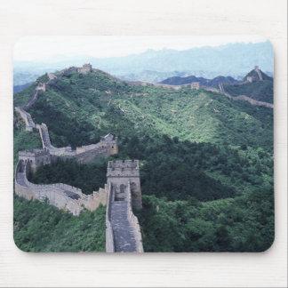 La Gran Muralla de China cerca de Pekín Tapetes De Raton