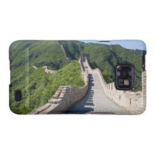 La Gran Muralla de China en Pekín, China Funda Para Samsung Galaxy SII
