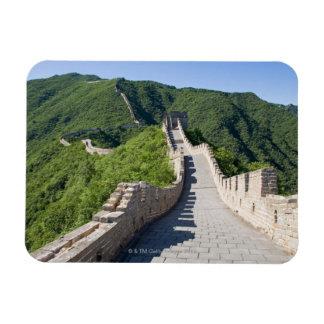 La Gran Muralla de China en Pekín, China Rectangle Magnet