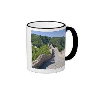 La Gran Muralla de China en Pekín, China Taza De Dos Colores