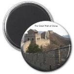 La Gran Muralla de China Imán De Frigorífico