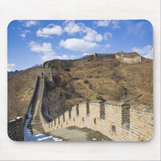 La Gran Muralla de la caída de China Alfombrilla De Ratón