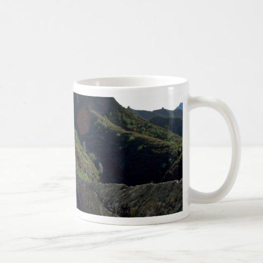 La Gran Muralla, Ginshanlin (colina de oro), China Taza Básica Blanca