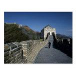 La Gran Muralla, Pekín, China Tarjeta Postal