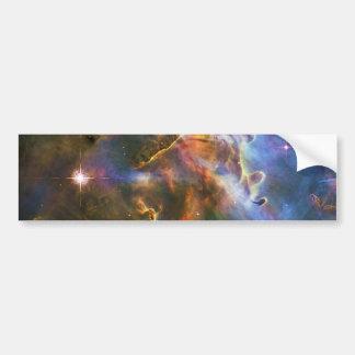 La gran nebulosa NGC 3372 de Eta Carina Etiqueta De Parachoque