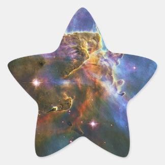 La gran nebulosa NGC 3372 de Eta Carina Colcomanias Forma De Estrellaes Personalizadas