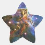 La gran nebulosa NGC 3372 de Eta Carina Pegatina En Forma De Estrella