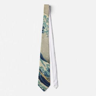 La gran onda corbatas personalizadas