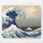 "La gran onda de Hokusai ""de Kanagawa"" Mousepad"