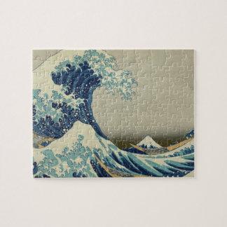 La gran onda de Hokusai de Kanagawa Rompecabeza