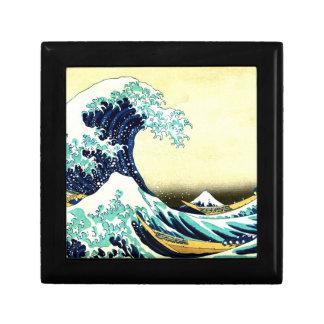 La gran onda de Kanagawa (神奈川沖浪裏) Cajas De Joyas