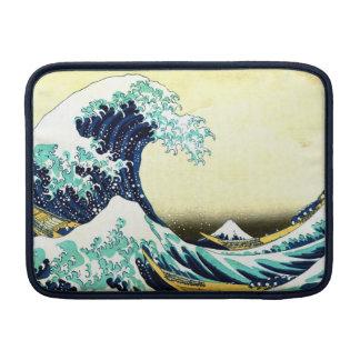 La gran onda de Kanagawa (神奈川沖浪裏) Funda Para Macbook Air