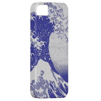 La gran onda de Kanagawa (神奈川沖浪裏) iPhone 5 Carcasas