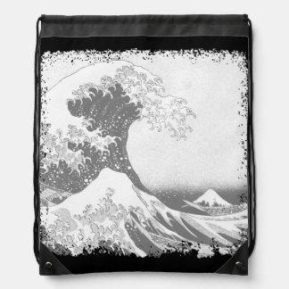 La gran onda de Kanagawa (神奈川沖浪裏) Mochila