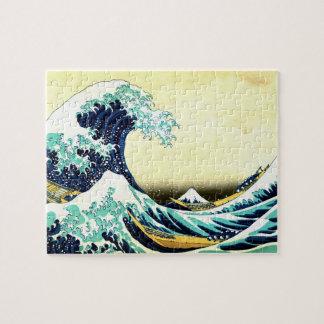La gran onda de Kanagawa (神奈川沖浪裏) Rompecabeza