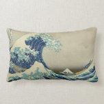 La gran onda de Kanagawa Almohadas