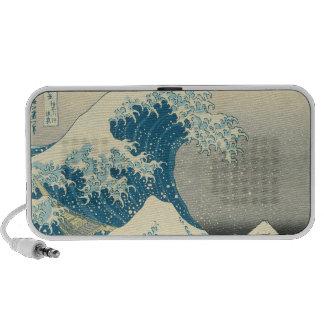 La gran onda de Kanagawa Altavoces De Viaje