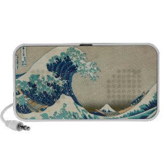 La gran onda de Kanagawa Mp3 Altavoces