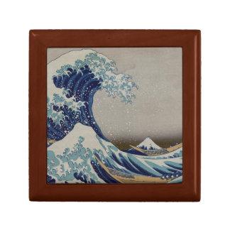 La gran onda de Kanagawa Cajas De Joyas