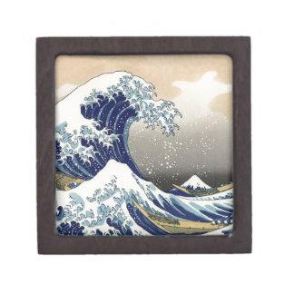 La gran onda de Kanagawa Cajas De Regalo De Calidad