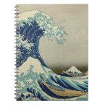 La gran onda de Kanagawa Cuaderno