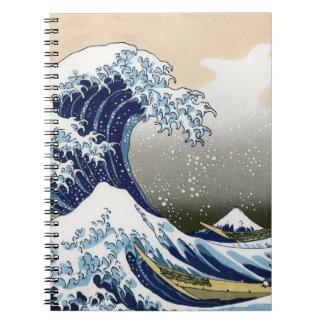 La gran onda de Kanagawa Libretas