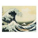 La gran onda de Kanagawa de Katsushika Hokusai Tarjetas Postales