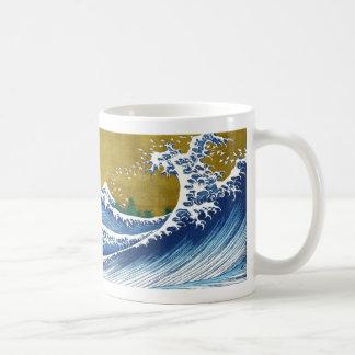 La gran onda de Kanagawa de Katsushika Hokusai Taza De Café