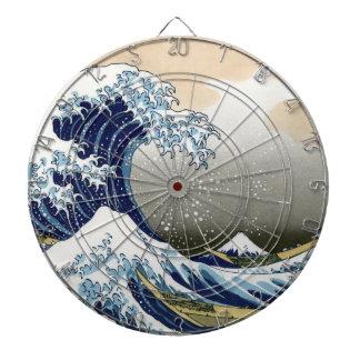 La gran onda de Kanagawa Tablero De Dardos