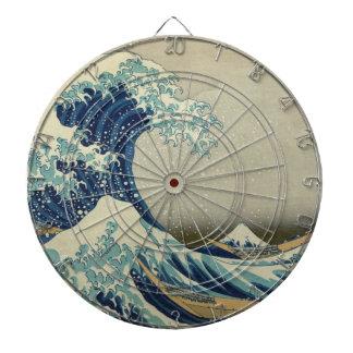La gran onda de Kanagawa Tablero Dardos