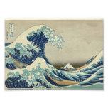 La gran onda de Kanagawa Fotografías