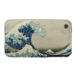 La gran onda de Kanagawa Case-Mate iPhone 3 Coberturas