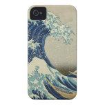 La gran onda de Kanagawa Case-Mate iPhone 4 Protector