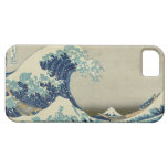 La gran onda de Kanagawa iPhone 5 Case-Mate Carcasas