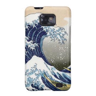 La gran onda de Kanagawa Samsung Galaxy SII Funda