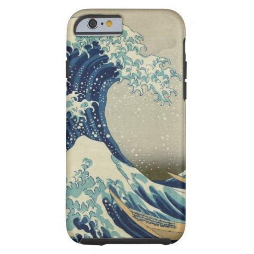 La gran onda de Kanagawa Funda De iPhone 6 Tough