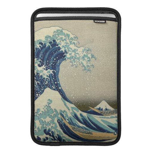 La gran onda de Kanagawa Funda Macbook Air