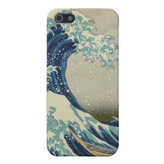 La gran onda de Kanagawa iPhone 5 Cárcasas