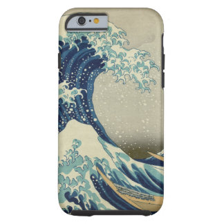 La gran onda de Kanagawa Funda Para iPhone 6 Tough