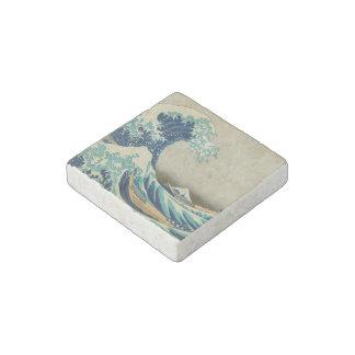 La gran onda de Kanagawa Imán De Piedra