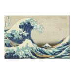 La gran onda de Kanagawa Impresión En Lienzo