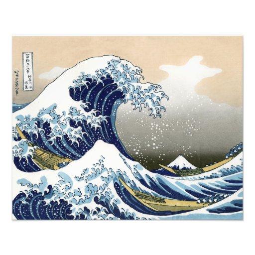 La gran onda de Kanagawa Impresiones Fotográficas