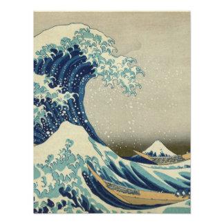 La gran onda de Kanagawa Invitación