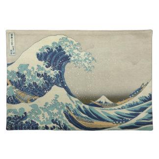 La gran onda de Kanagawa Mantel Individual