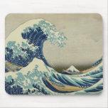 La gran onda de Kanagawa Mousepads