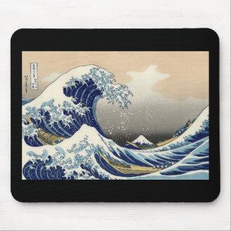 La gran onda de Kanagawa por el cojín de ratón de Tapetes De Raton