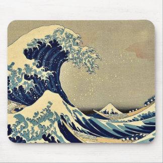 La gran onda de Kanagawa por Katsushika, Hokusai Mouse Pads