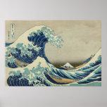 La gran onda de Kanagawa Póster