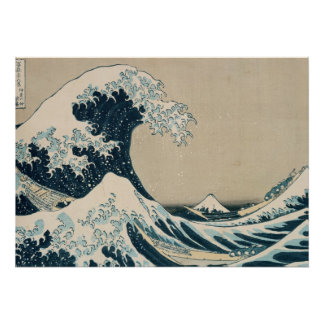 La gran onda de Kanagawa Posters